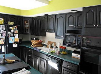 Using Black Kitchen Cabinets