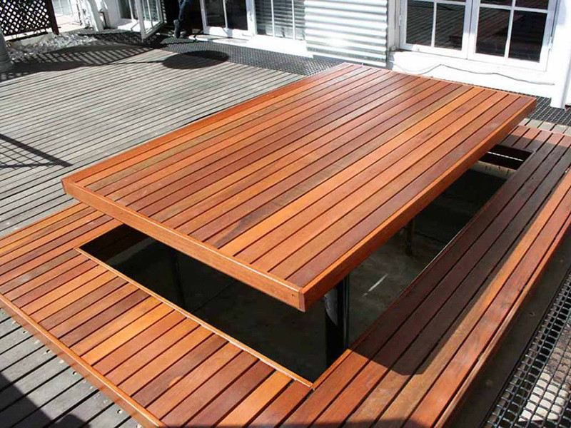 Decking Rather Than Natural Wood