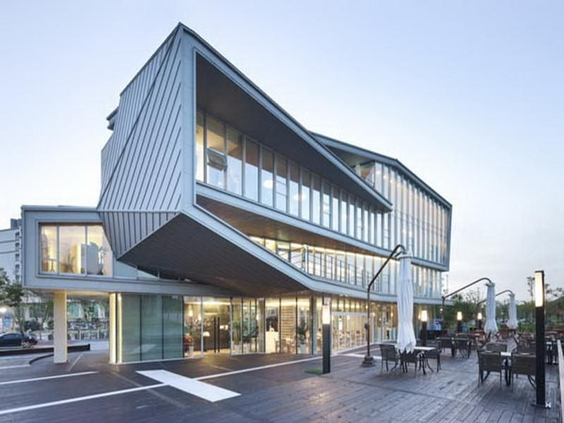Office Having A Commercial Architect
