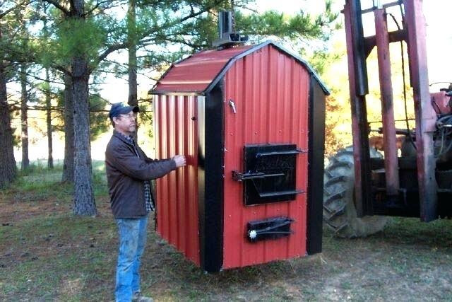 Outdoor Wood Boiler1